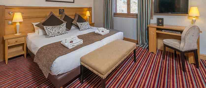 Le savoie - double bedroom